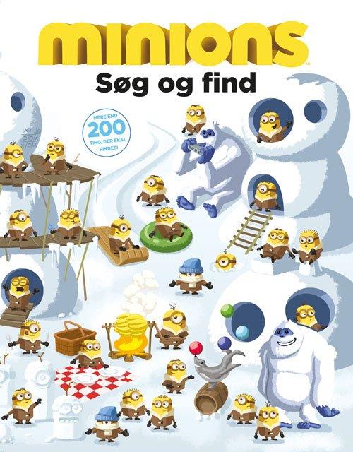 Image of   Minions - Søg Og Find - Mere End 200 Ting, Der Skal Findes - Diverse - Bog