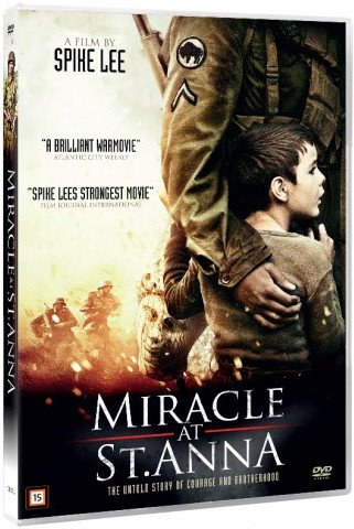 Image of   Miracle At Sct Anna / Miraklet Ved Skt. Anna - DVD - Film
