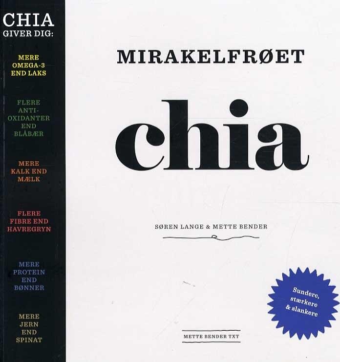 Mirakelfrøet Chia - Søren Lange - Bog