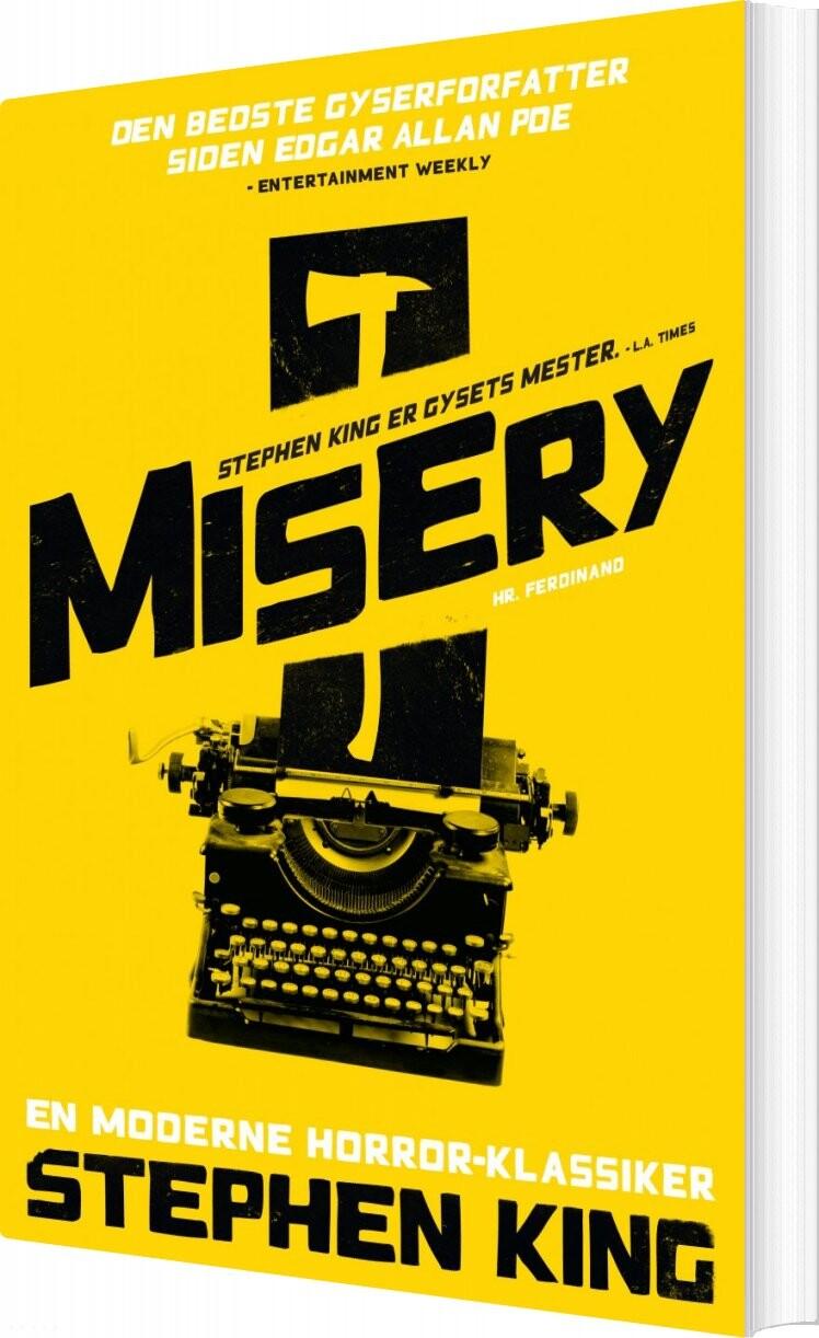 Image of   Misery - Stephen King - Bog