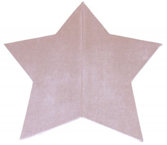 Image of   Misioo - Legemadras - Star 160 X 5 Cm - Baby Pink
