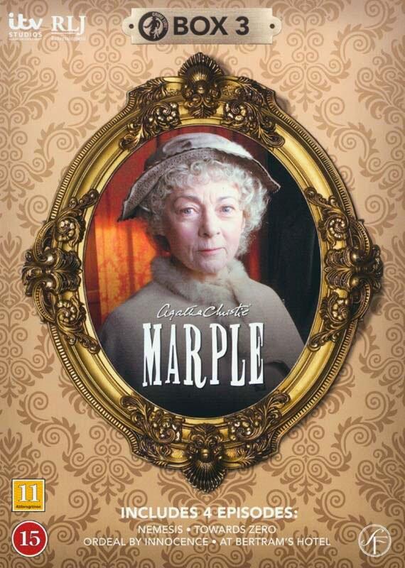 Miss Marple - Boks 3 - DVD - Tv-serie