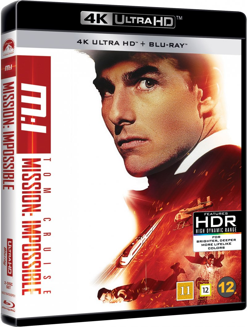 Image of   Mission Impossible 1 - 4K Blu-Ray
