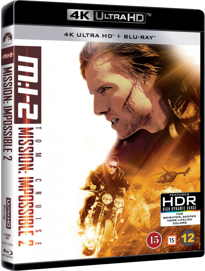 Image of   Mission Impossible 2 - 4K Blu-Ray