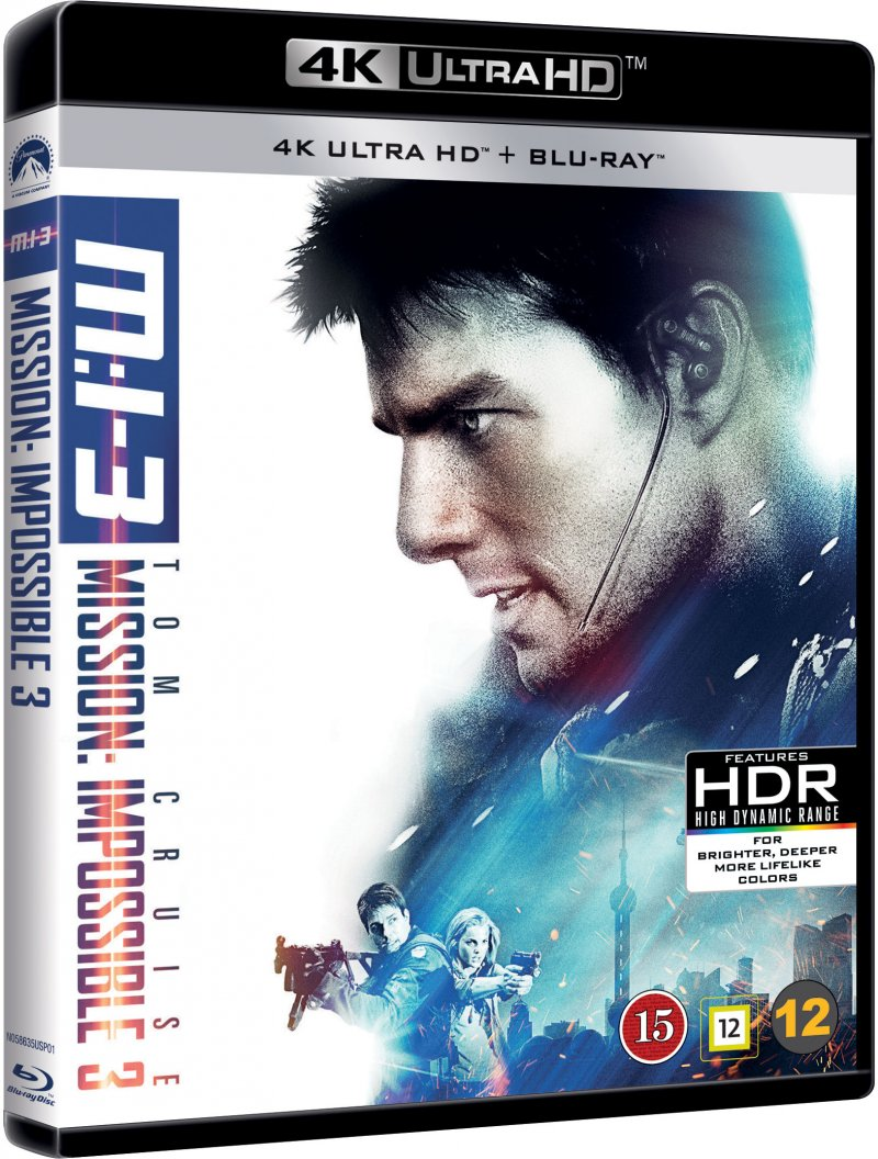 Image of   Mission Impossible 3 - 4K Blu-Ray
