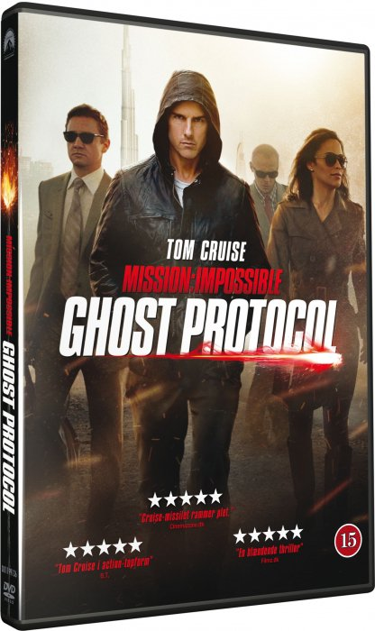Mission Impossible 4 - Ghost Protocol - DVD - Film