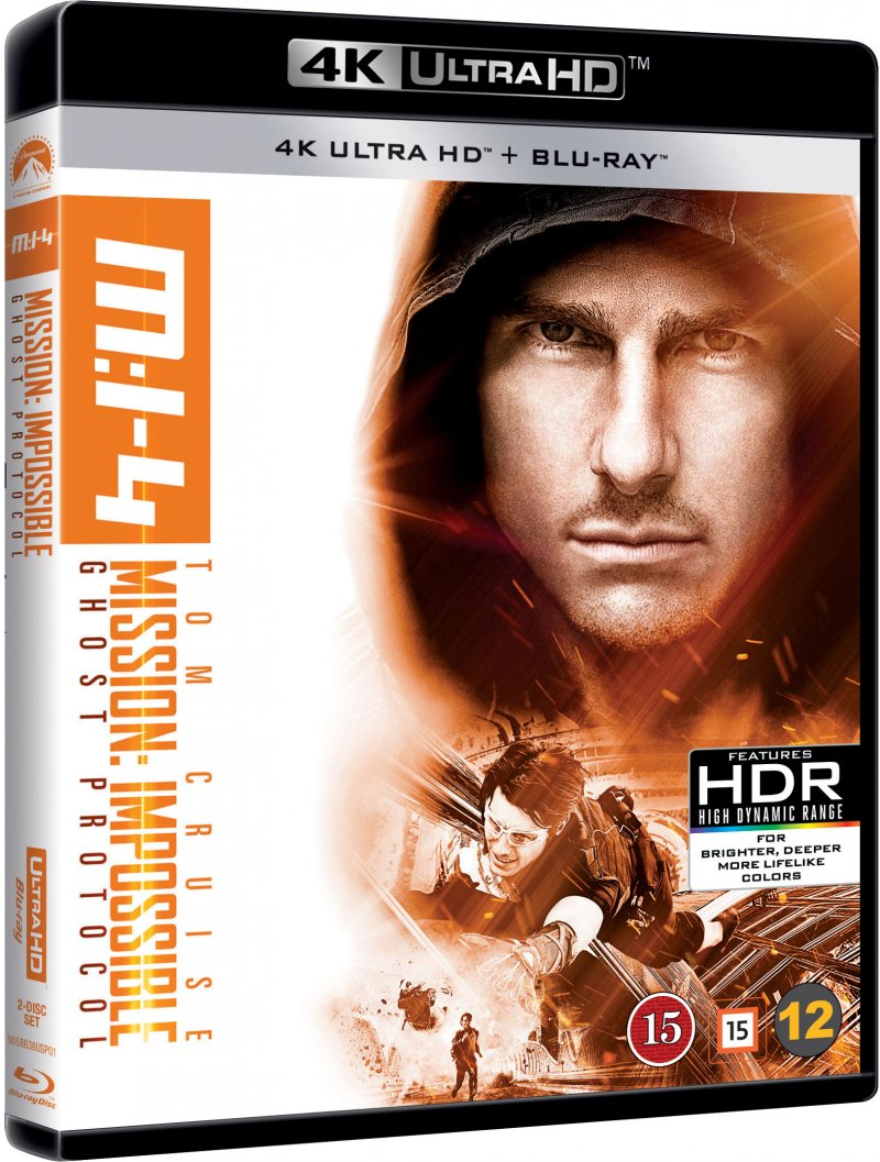 Image of   Mission Impossible 4 - Ghost Protocol - 4K Blu-Ray