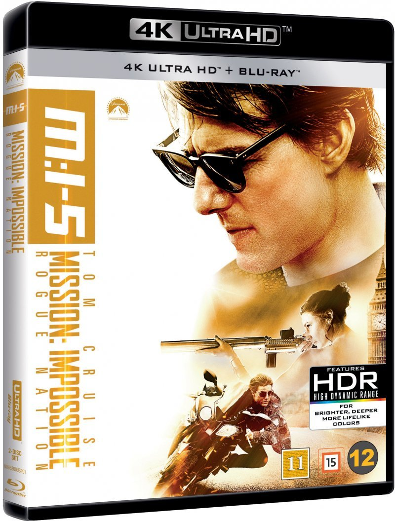 Billede af Mission Impossible 5 - Rogue Nation - 4K Blu-Ray