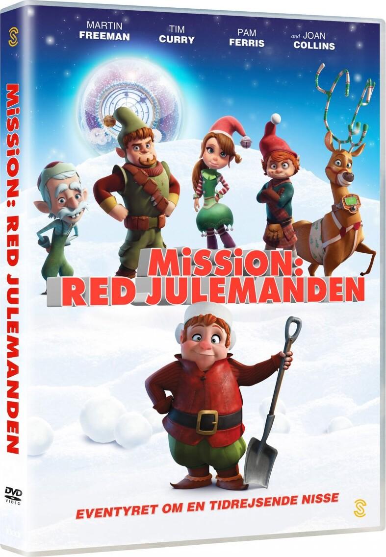 Image of   Mission Red Julemanden / Saving Santa - DVD - Film