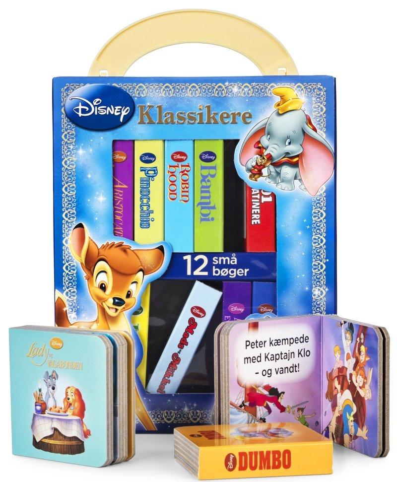 Image of   Disney Mit Første Bibliotek - Klassikere - Diverse - Bog