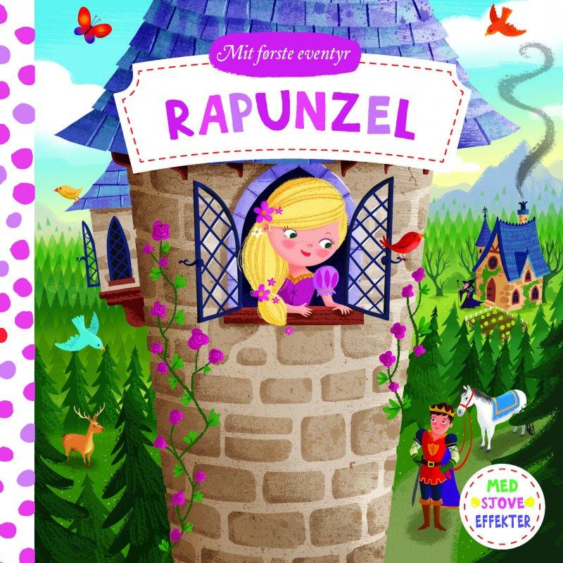 Image of   Mit Første Eventyr: Rapunzel - Diverse - Bog
