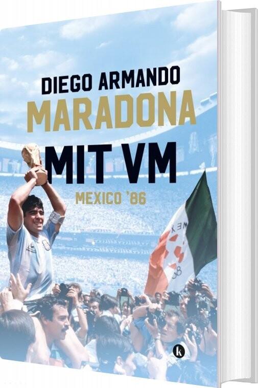 Mit Vm - Mexico 1986 - Diego Maradona - Bog