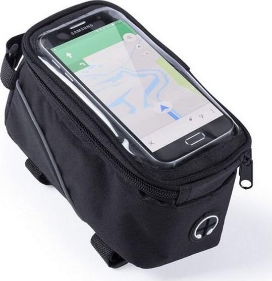 Image of   Mobilholder Til Cykel Med Opbevaring - Sort