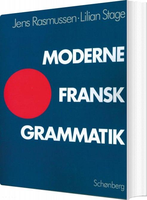 Billede af Moderne Fransk Grammatik - Jens Rasmussen - Bog
