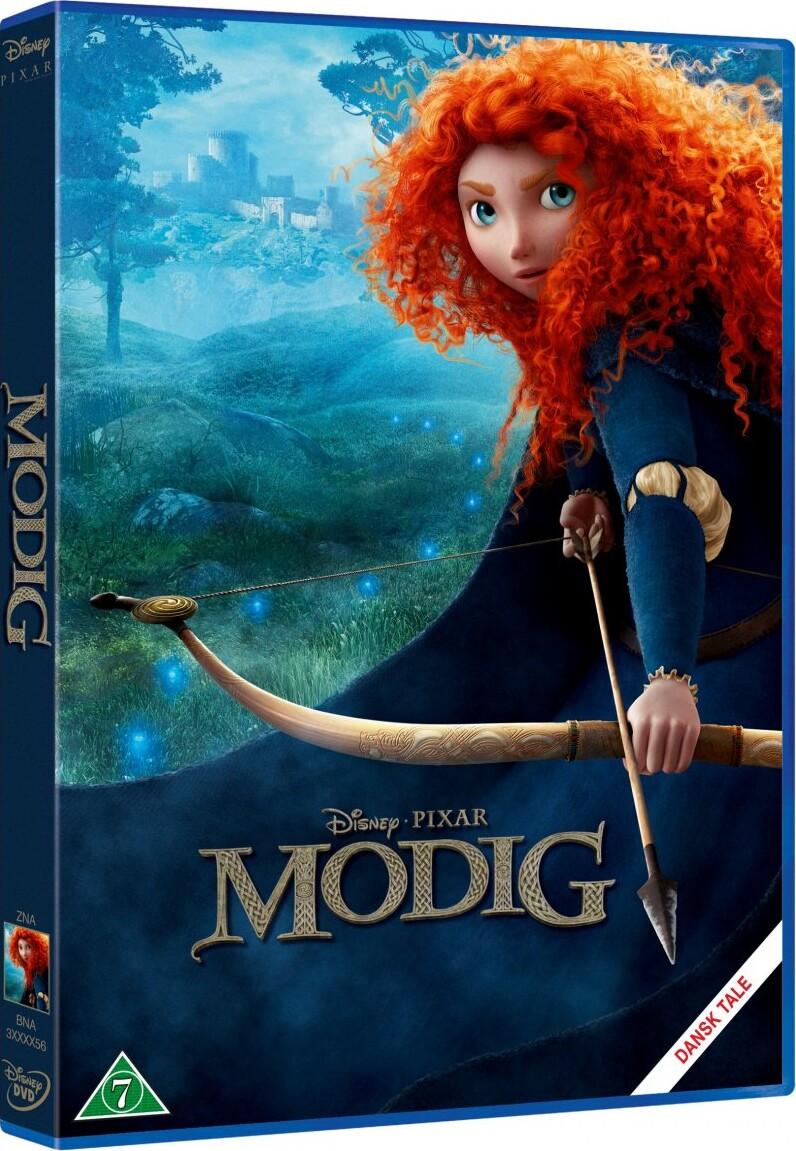 Billede af Modig / Brave - Disney Pixar - DVD - Film