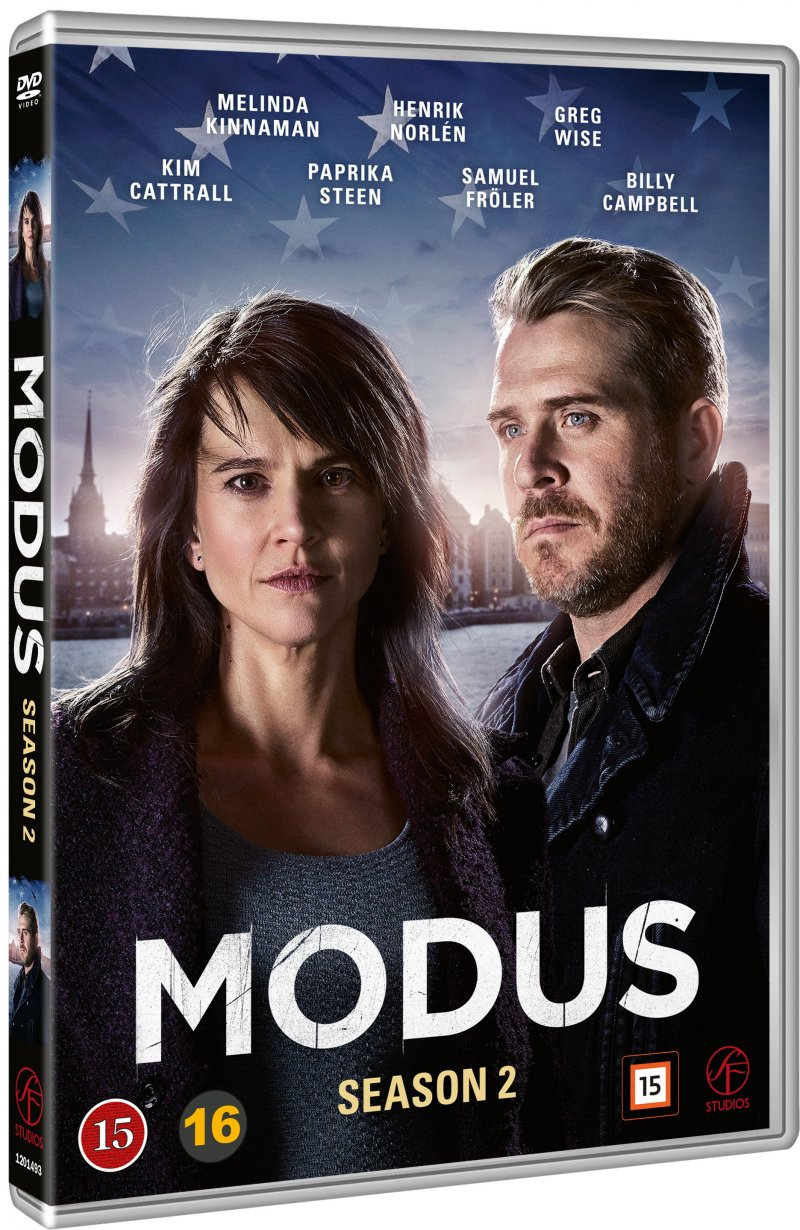 Image of   Modus - Sæson 2 - DVD - Tv-serie