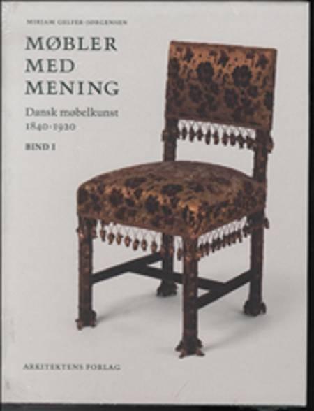 Image of   Møbler Med Mening - Mirjam Gelfer-jørgensen - Bog