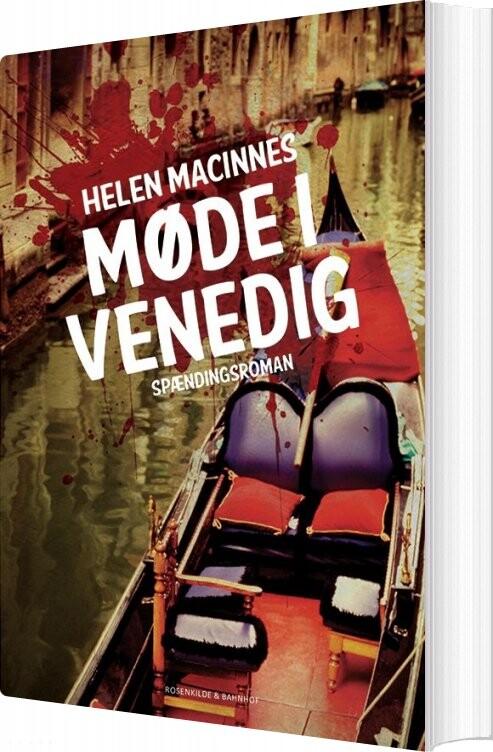 Image of   Møde I Venedig - Helen Macinnes - Bog
