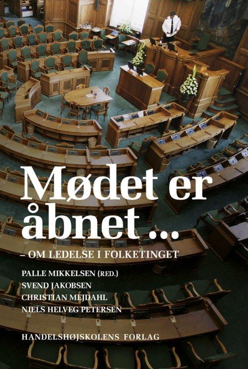 Image of   Mødet Er åbnet - Palle Mikkelsen - Bog
