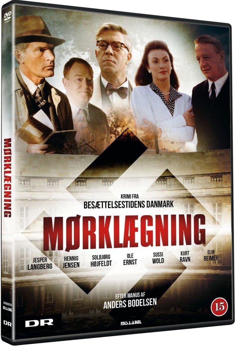Image of   Mørklægning - Dr Tv Serie - DVD - Tv-serie