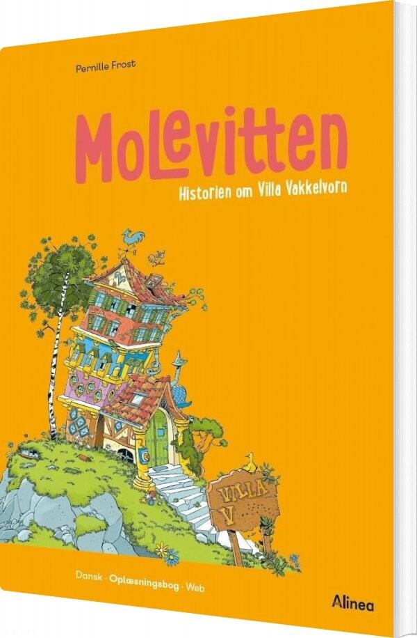 Molevitten, 0. Kl., Villa Vakkelvorn - Pernille Frost - Bog