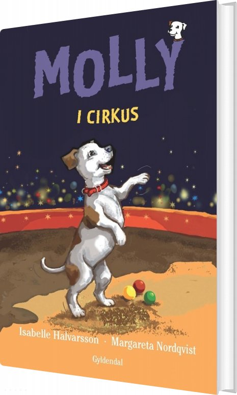 Molly 4 - Molly I Cirkus - Isabelle Halvarsson - Bog