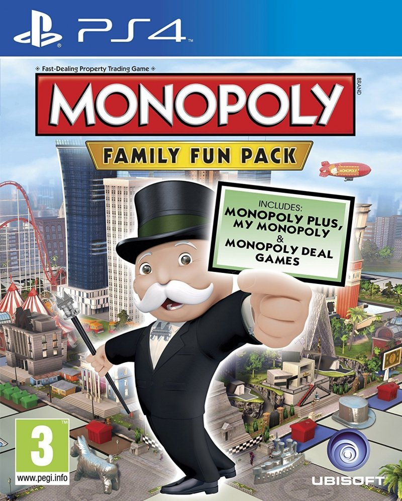 Image of   Monopoly Family Fun Pack - PS4