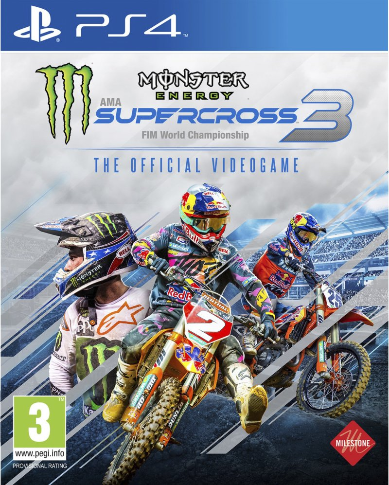 Image of   Monster Energy Supercross - The Official Videogame 3 - PS4