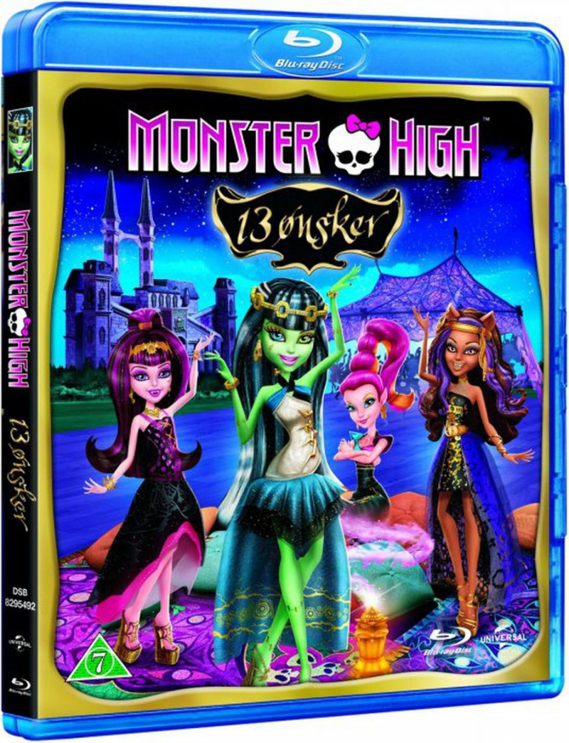 Image of   Monster High - 13 ønsker - Blu-Ray