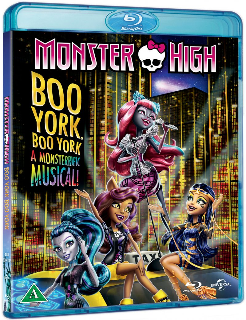 Image of   Monster High - Boo York, Boo York - Blu-Ray