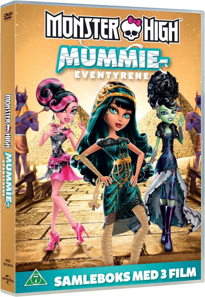 Image of   Monster High: Boo York, Boo York // Monstre Styrer For Vildt // Gys, Kamera, Action - DVD - Film