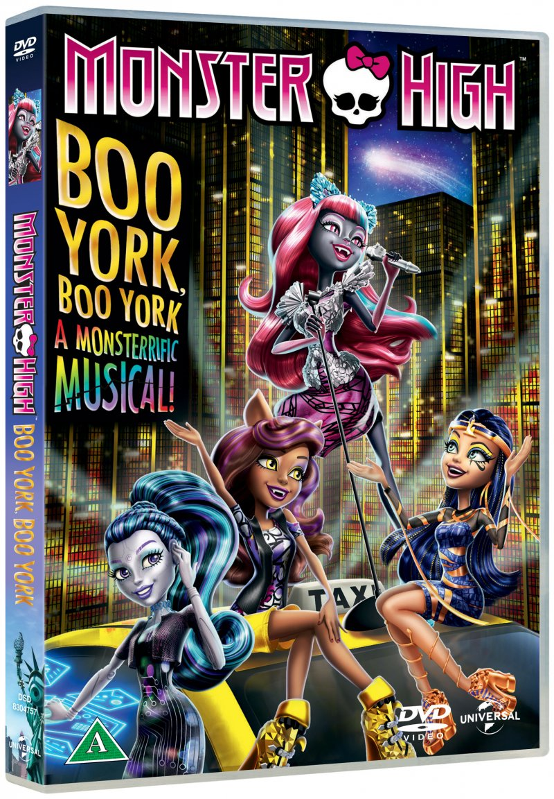 Billede af Monster High - Boo York, Boo York - DVD - Film