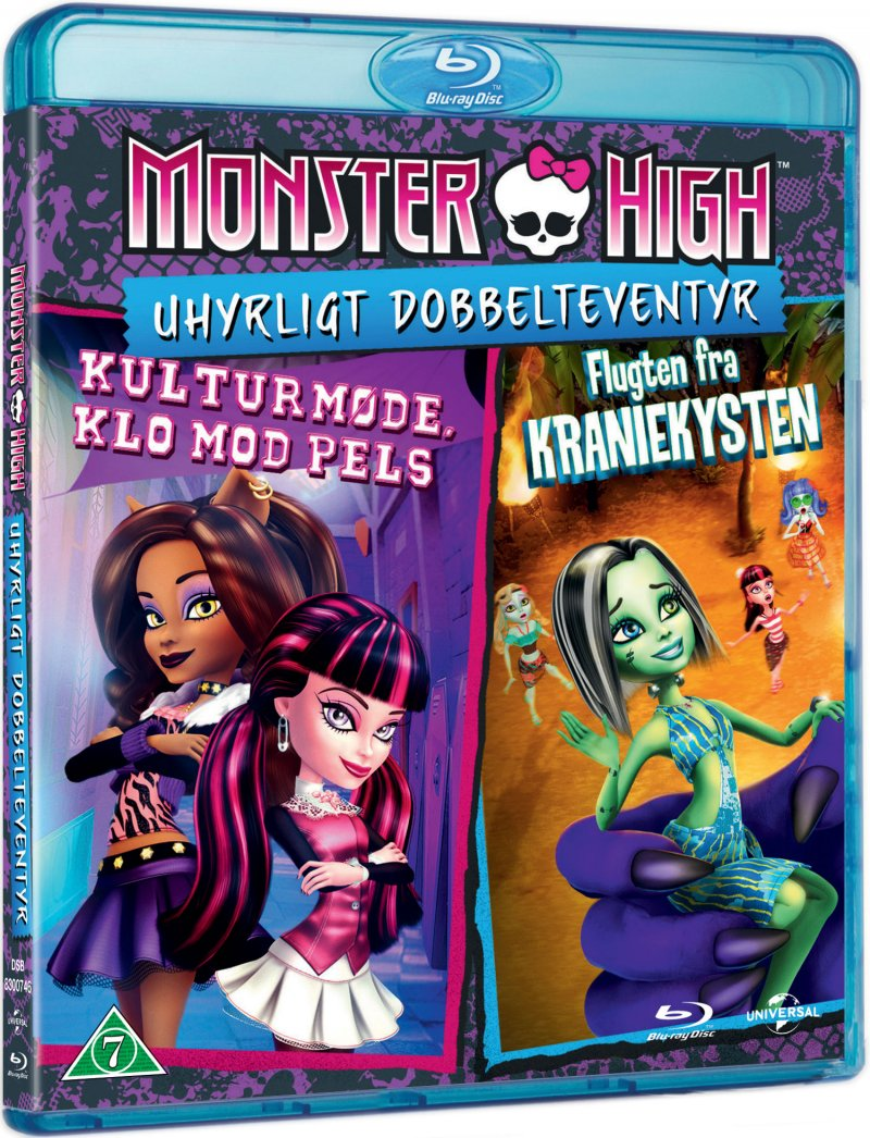 Image of   Monster High: Clawsome Double - Blu-Ray