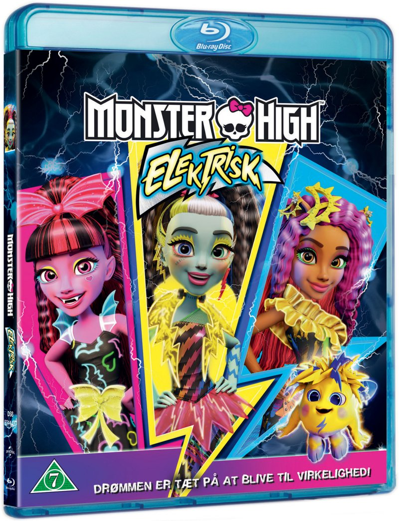 Image of   Monster High - Electrified - Blu-Ray