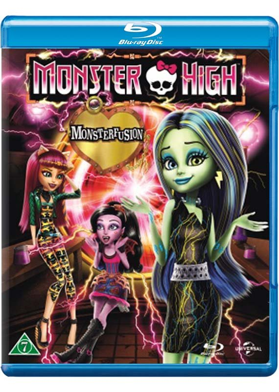Image of   Monster High - Monsterfusion - Blu-Ray