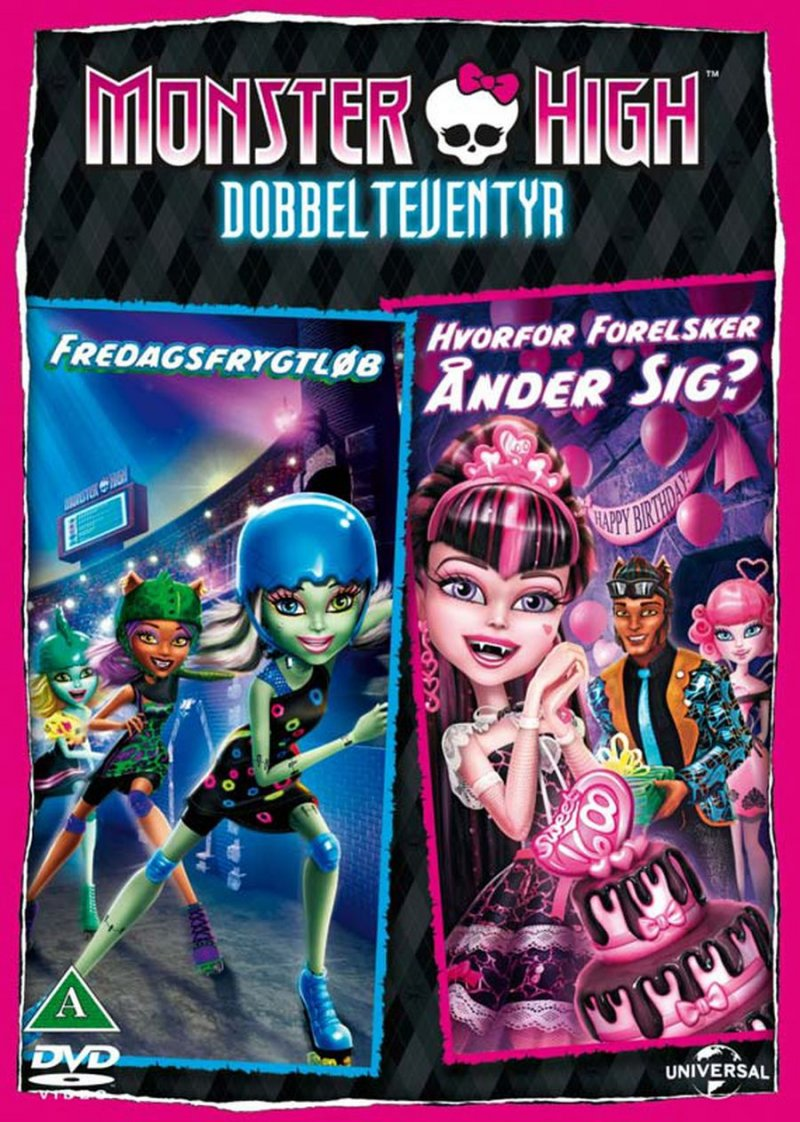 Image of   Monster High: Friday Night Frights // Monster High: Why Do Ghouls Fall In Love - DVD - Film