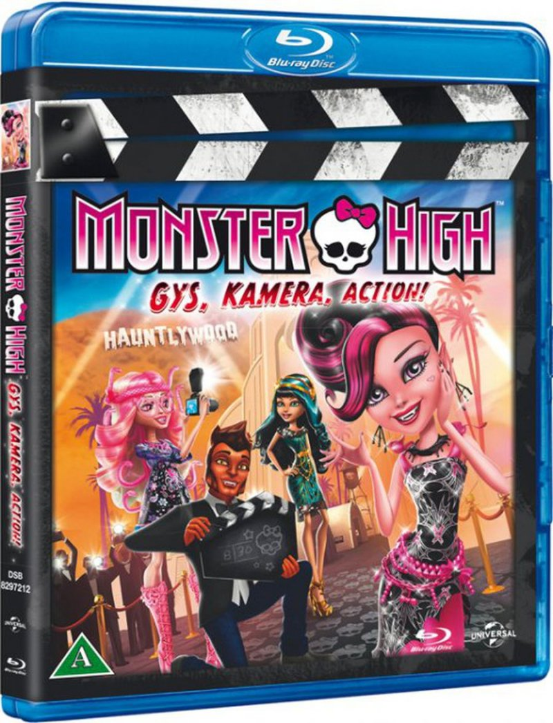 Image of   Monster High: Gys, Kamera, Action - Blu-Ray