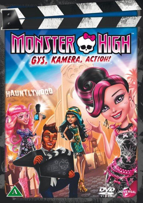 Image of   Monster High: Gys, Kamera, Action! - DVD - Film