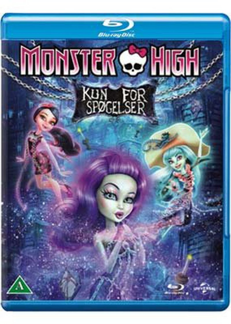 Image of   Monster High - Haunted / Kun For Spøgelser - Blu-Ray