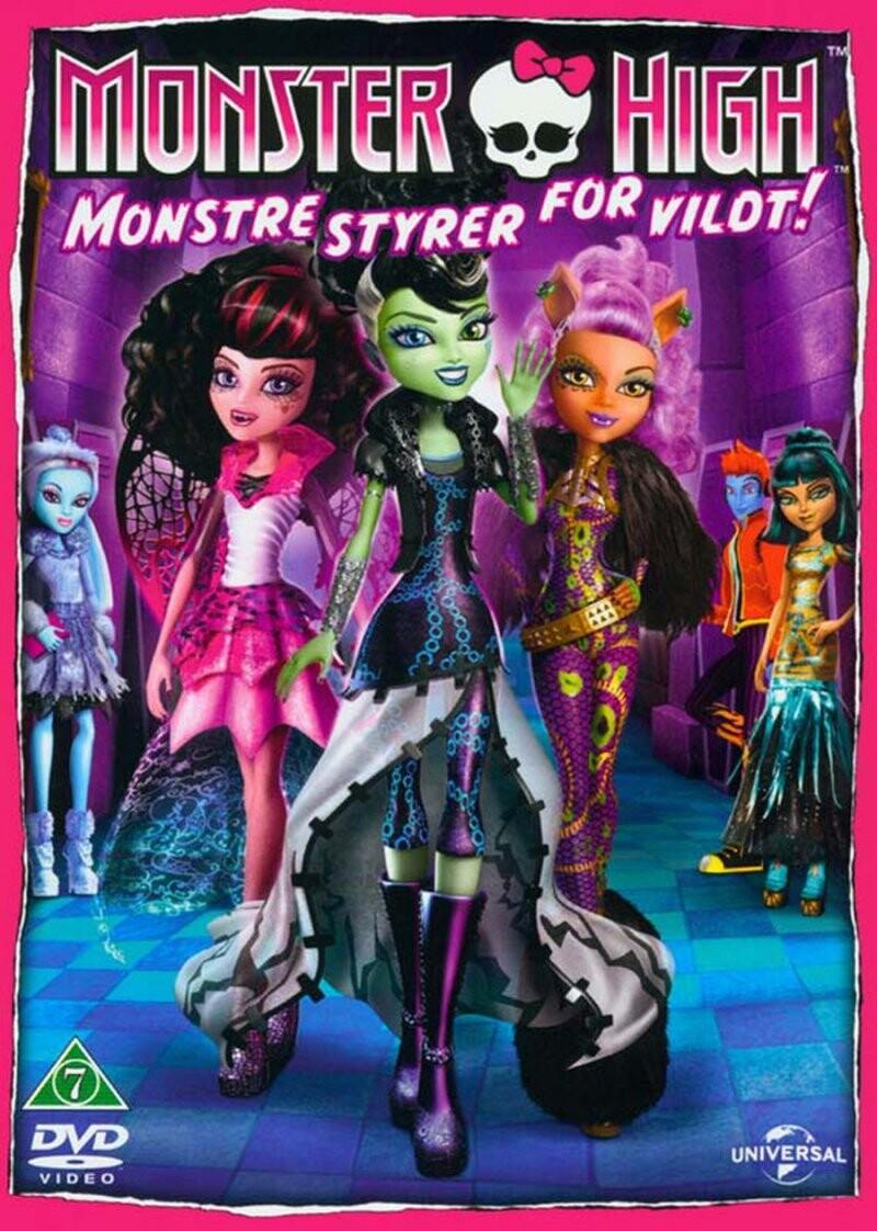 Billede af Monster High: Monstre Styrer For Vildt / Monster High: Ghouls Rule - DVD - Film