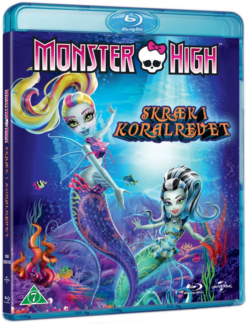 Image of   Monster High - Skræk I Koralrevet / Monster High - Great Scarrier Reef - Blu-Ray