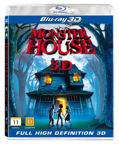 Image of   Monster House - 3D Blu-Ray