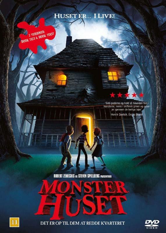 Billede af Monster Huset / Monster House - DVD - Film