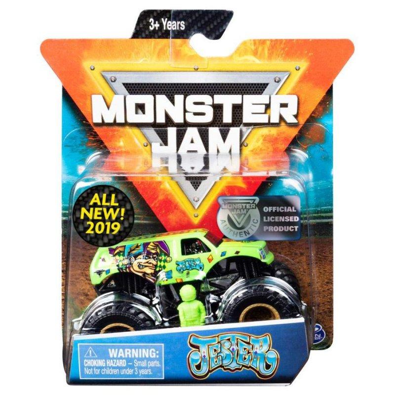 Image of   Monster Jam - Monster Truck Legetøj - 1:64 Single Pack - Jester