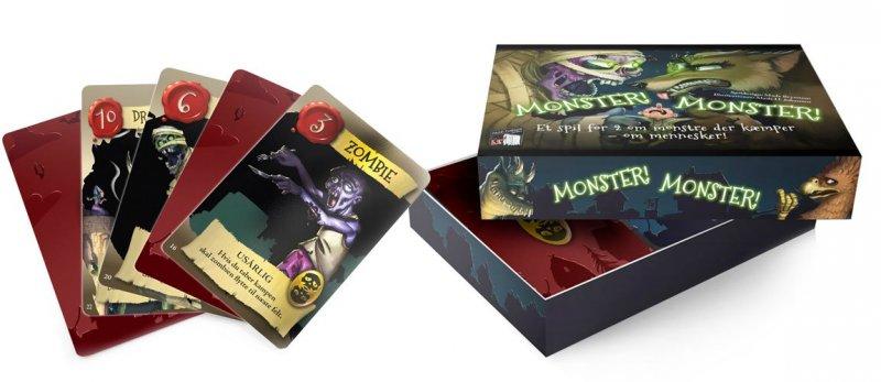 Monster! Monster! - Brætspil På Dansk