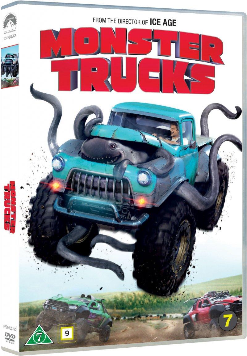Billede af Monster Trucks - DVD - Film