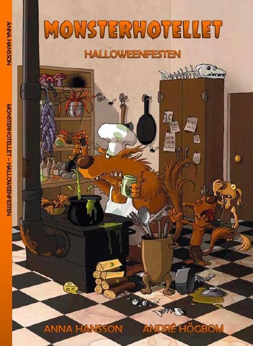 Image of   Monsterhotellet - Halloweenfesten - Anna Hansson - Bog