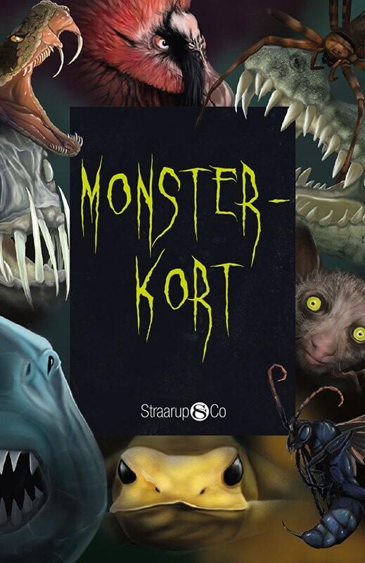 Monsterkort - Line Renslebråten - Bog