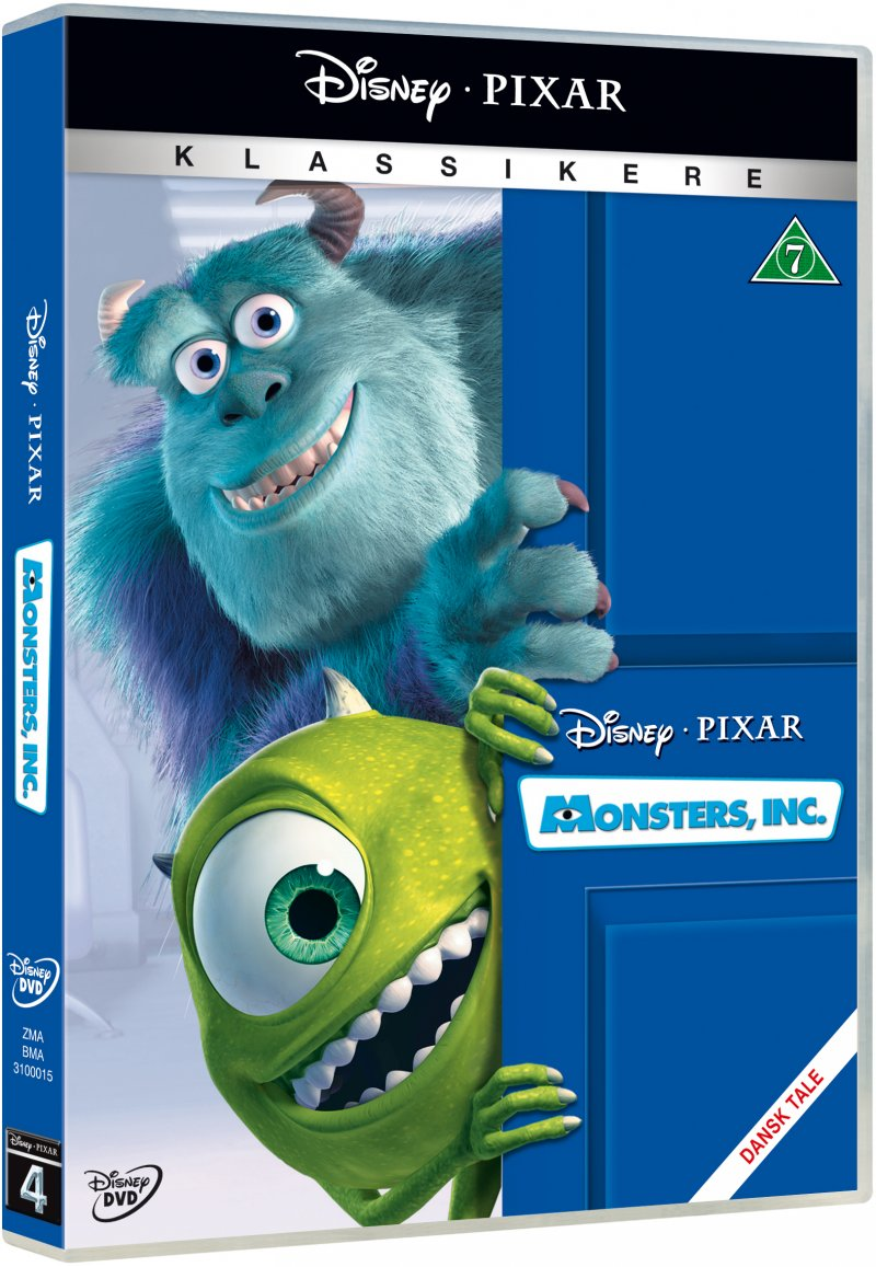 Billede af Monsters Inc - Disney Pixar - DVD - Film
