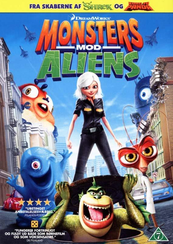 Billede af Monsters Vs Aliens - DVD - Film